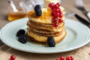 vegan pancakes νηστίσιμα ευκολα αφράτα