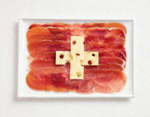 Της Ελβετίας με αλλαντικά και ελβετικό τυρί