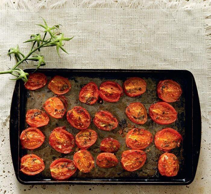 Ντοματίνια στο φούρνο