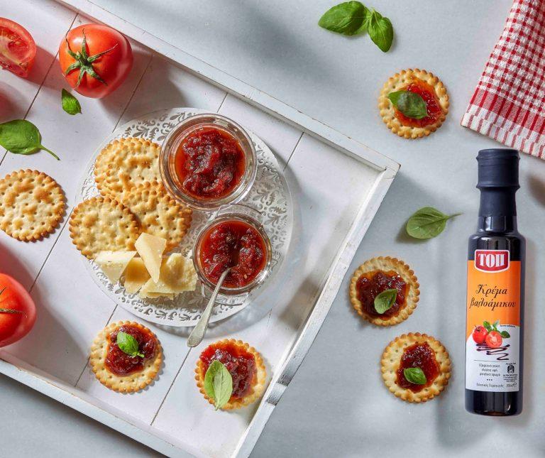 Μαρμελάδα ντομάτα για τυριά και κρέας