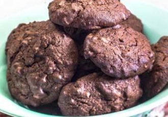 μπισκότα φουντούκι σοκολάτα συνταγη