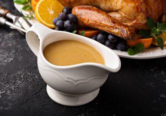 τι είναι η σάλτσα γκρέιβι για γαλοπούλα gravy sauce ψητού