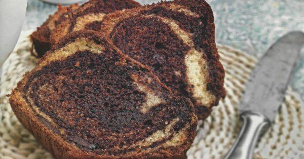 απλό κέικ γεωγραφίας βανίλια σοκολάτα συνταγη