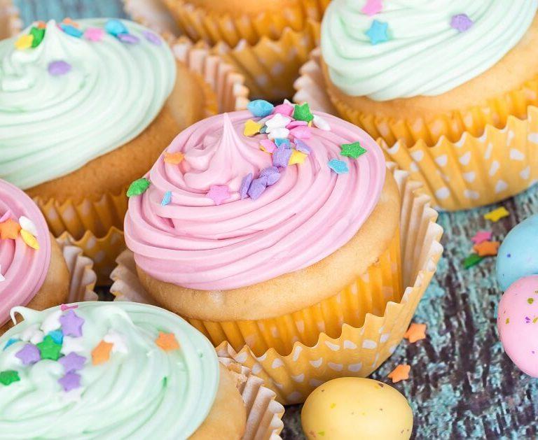 Cupcakes (βασική συνταγή)