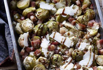 Λαχανάκια Βρυξελλών με μπέικον και παρμεζάνα-featured_image