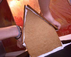 gingerbread house σπιτακι Χριστουγεννιάτικο μπισκοτόσπιτο ζύμη