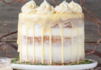 γκανάζ μοντέ ganache montée λευκη γκανάζ λευκής σοκολάτας για τούρτα γλάσο