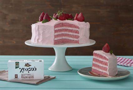 Ροζ τούρτα φράουλα-featured_image