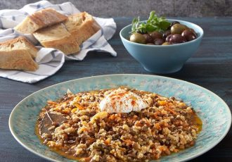 φακές με πλιγουρι εγκλουβής super food συνταγη αργυρω μπαρμπαριγου argiro argyro
