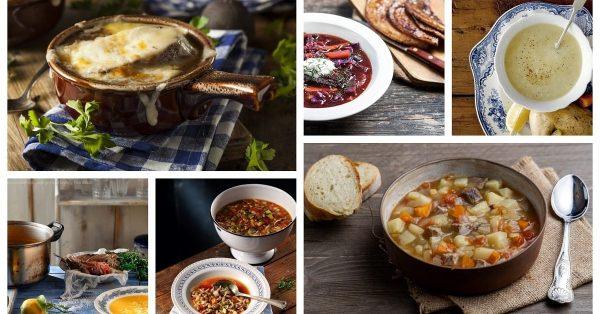Οι καλύτερες συνταγές για σούπες