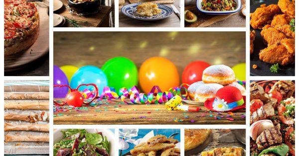 μπουφές για αποκριάτικο πάρτυ ιδεες συνταγες
