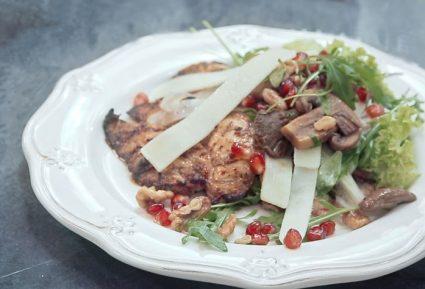 Ψητό κοτόπουλο φιλέτο με σαλάτα-featured_image