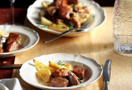 Χοιρινό στο φούρνο με πατάτες-featured_image
