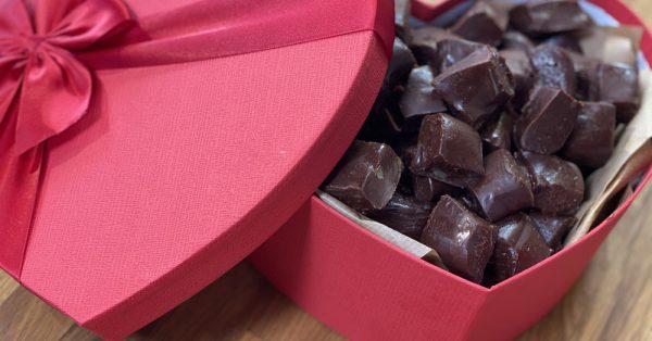 σοκολατάκια αγίου βελεντίνου γλυκο