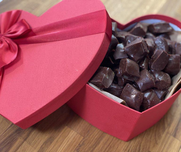 Σοκολατένια φιλιά St.Valentine's