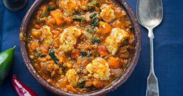κάρυ λαχανικών λαχανικά εύκολοσάλτσα καρυ
