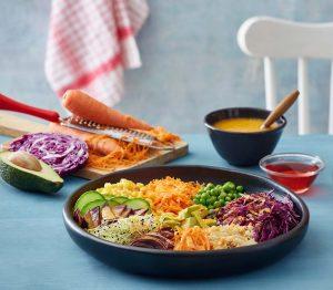 buddha bowl υγιεινο μπολ ενέργειας με λαχανικα το μπολ του Βούδα vegan συνταγη