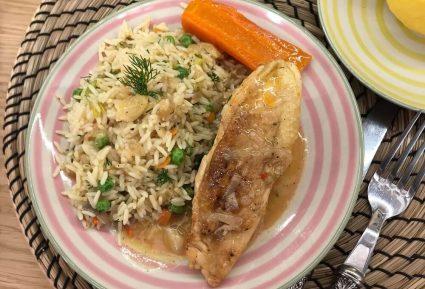 Κοτόπουλο λεμονάτο κατσαρόλας με ρύζι-featured_image