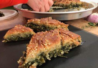 νηστίσιμη πίτα με σέσκουλα Σεφουκλωτή Νάξου παραδοσιακή συνταγη παραδοσιακές πίτες