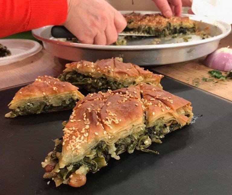 Σεφουκλωτή Νάξου (πίτα με σέσκουλα)