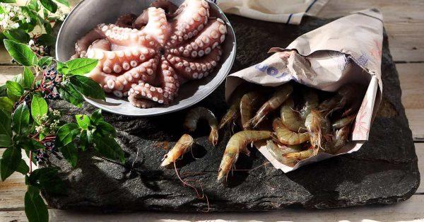 μυστικά για θαλασσινά συντηρηση μαγειρεμα αργυρω μπαρμπαριγου