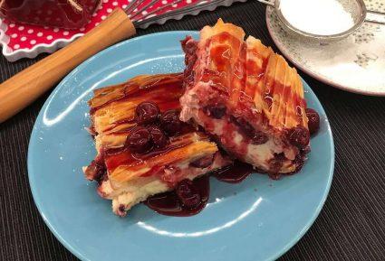 Γρήγορο cheesecake με τραγανό φύλλο-featured_image