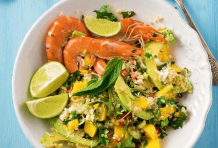Σαλάτα με κινόα και γαρίδες-featured_image