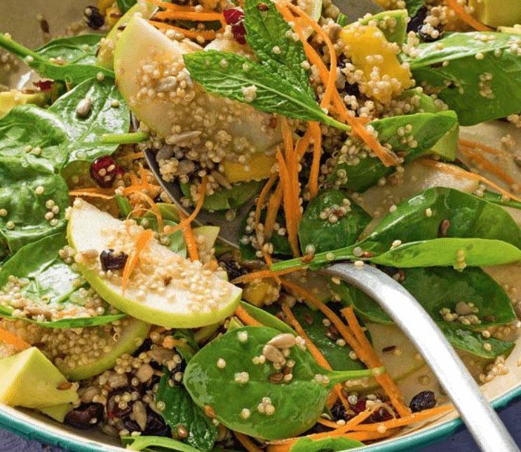 Σαλάτα με κινόα και Superfoods