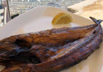 παριανη γούνα πάρου πως γινεται λιαστο ψαρι ψητο στον ηλιο
