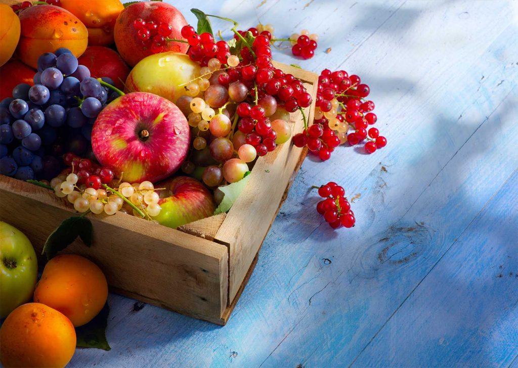 λαχανικά και φρούτα στο ψυγείο ή εκτός ψυγείου