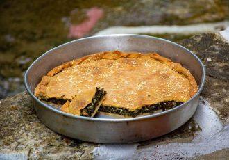Σεφουκλωτή πίτα νάξου γλυκια πίτα με σέσκουλα παραδοσιακή συνταγή Νάξος αργυρω