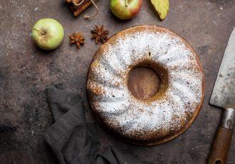 κέικ μήλου με γιαούρτι συνταγη