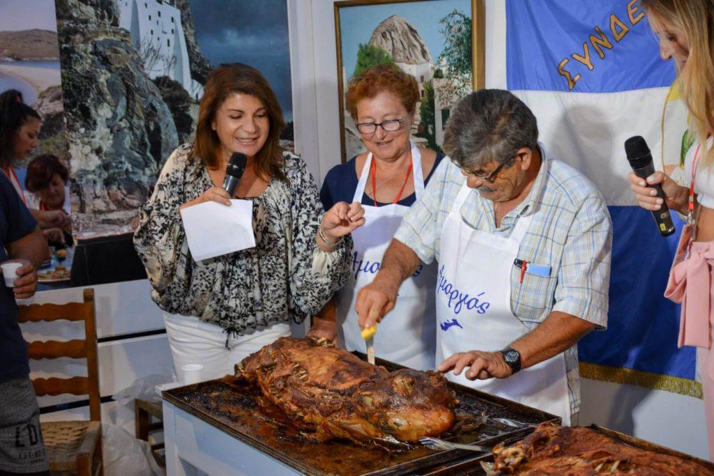 13ο Φεστιβάλ Κυκλαδικής Γαστρονομίας «Νικόλαος Τσελεμεντές» 2019 Σιφνος Αργυρω Μπαρμπαρίγου
