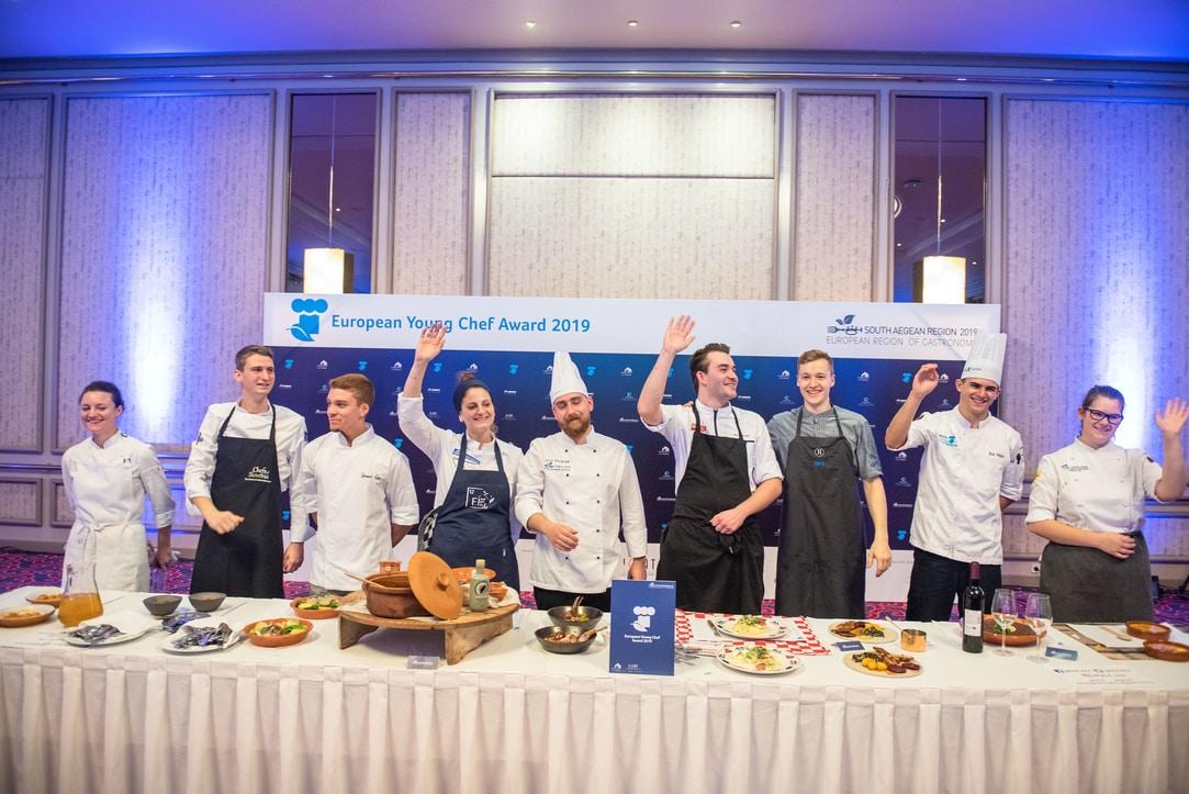 Την δεύτερη θέση κατέκτησε ο Jure Dretnik από τη Σλοβενία με το πιάτο «Lunch of Mowers», και την τρίτη ο Hans Kjellsson από τη Δανία , με το πιάτο «The Taste of Home». Οι εννέα φιναλίστ που συμμετείχαν στον διαγωνισμό προέρχονταν από την Ελλάδα, την Ισπανία, τη Σλοβενία , την Πορτογαλία , τη Δανία, την Ολλανδία, και τη Ρουμανία. Πιο συγκεκριμένα: