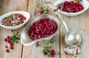 cranberry sauce συνταγη σάλτσα κράνμπερι σως για γαλοπουλα κρεας κοτοπουλο