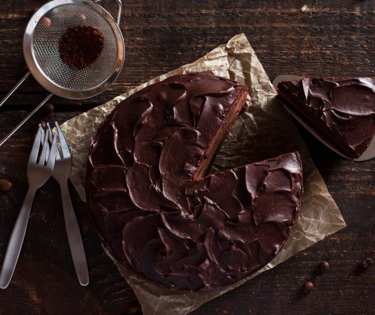 Νηστίσιμη τούρτα σοκολάτας της Αργυρώς