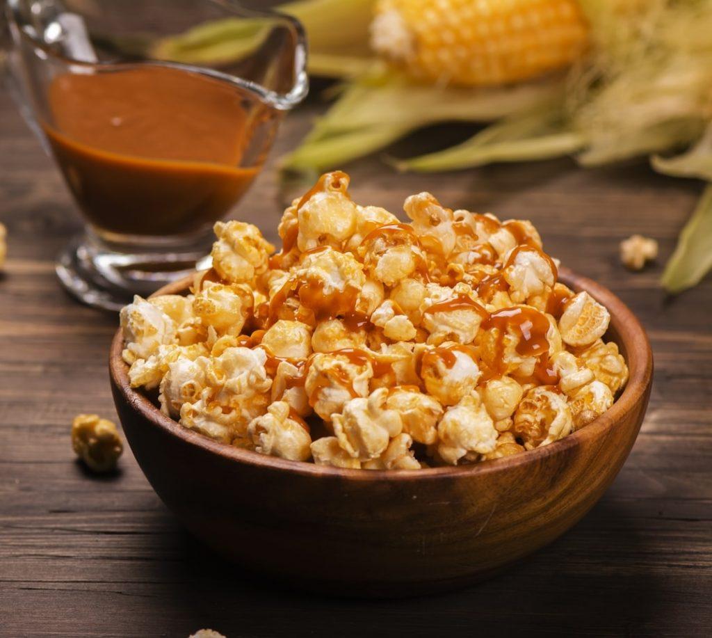 σπιτικα καραμελωμενα ποπ κορν συνταγη pop corn γλυκα