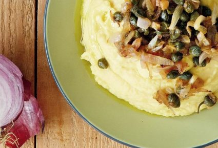 Φάβα με καραμελωμένα κρεμμύδια-featured_image