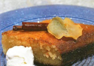 παραδοσιακό νηστίσιμο σάμαλι χωρίς γιαούρτι με σόδα συνταγή γλυκό