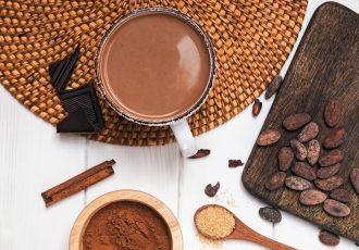 vegan ρόφημα σοκολάτας ζεστή σοκολάτα νηστίσιμη