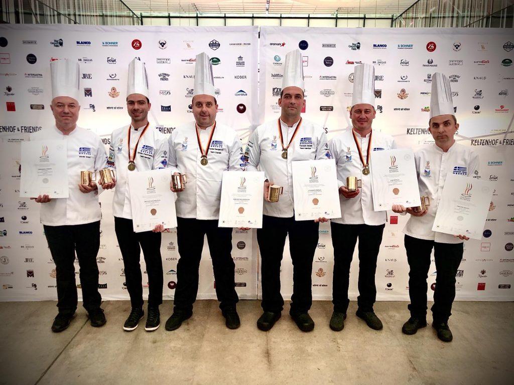 Χάλκινο μετάλλιο για τη Λέσχη Αρχιμαγείρων Βορείου Ελλάδος, στους Ολυμπιακούς Αγώνες Μαγειρικής
