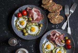 συνταγη αυγά ορτυκιού σε pancakes κολοκύθι