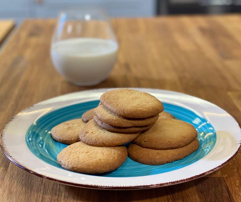Μπισκότα βουτύρου (βασική συνταγή)
