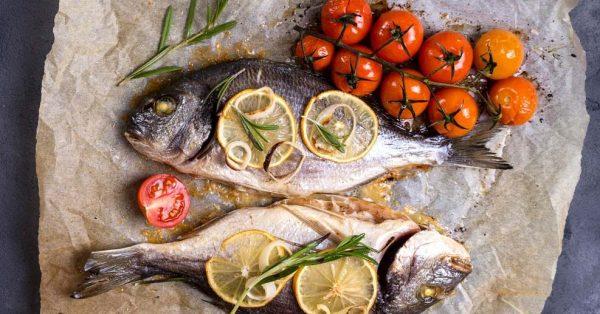 τσιπούρα ψητή στο φούρνο συνταγη ψαρι ψητο με τι να συνοδευσω το ψητο ψαρι λαδολέμονο
