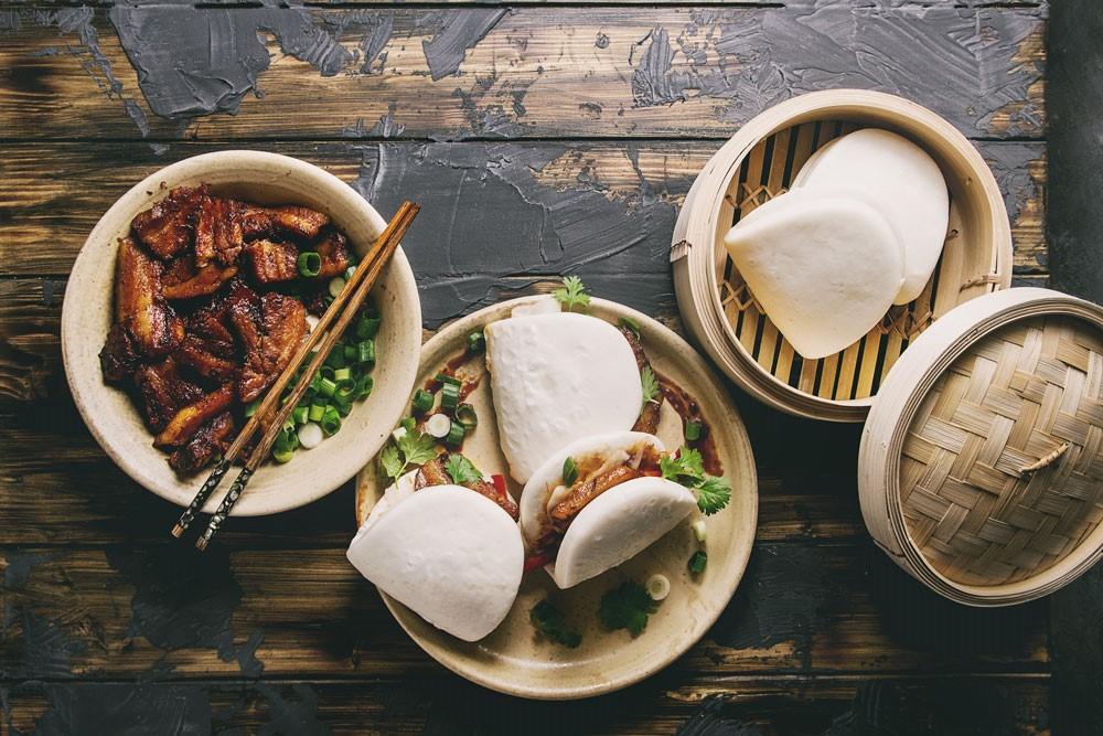 Bao buns (Μπάο μπαν)