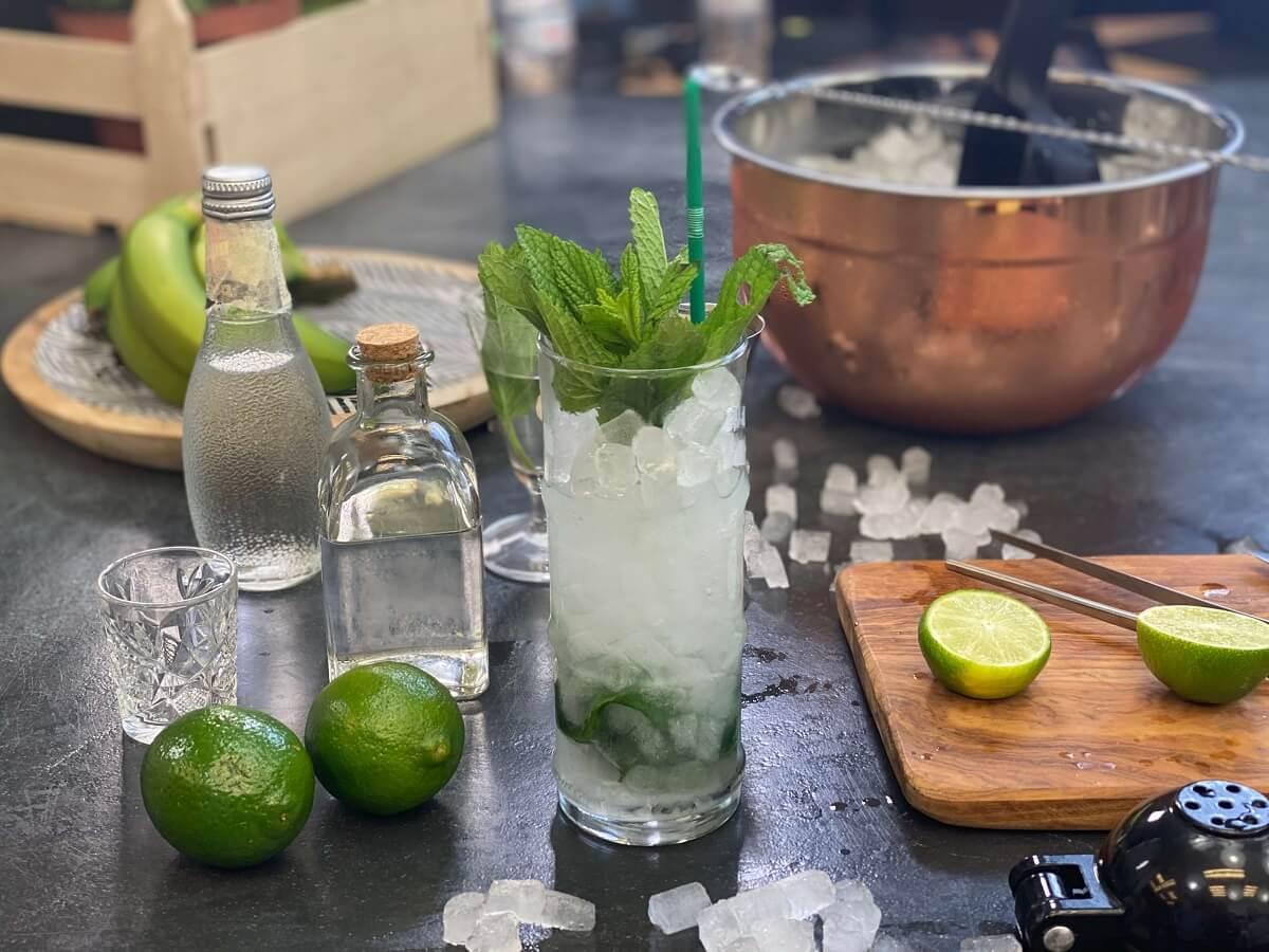 mojito cocktail μοχίτο συνταγή