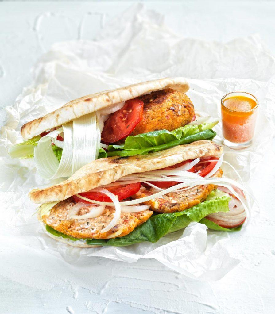 μπιφτέκια γαλοπούλας με βρωμη συνταγή κυπριακή πίτα