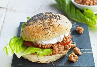 sloppy joe συνταγη sloppy joes burger μπεργκερ με κιμα