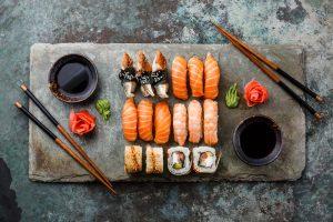 υλικα για σούσι συνταγη sushi ρυζι είδη
