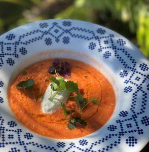 gazpacho σουπα γκασπάτσο συνταγη